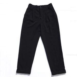 Zara Woman Paperboy Ankle High Waist Trouser
